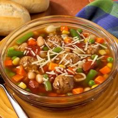 Easy Meatball Minestrone