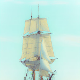 Tall Ship by Kirk Schleife - Transportation Boats ( duluth, water, sailing, tall ship, ship, lake superior, sailboat, boat )