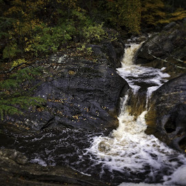 More Falls by Diane Clontz - Novices Only Landscapes ( vacation, connecticut, waterscape, fall, waterfall )