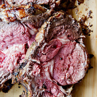 Standing Rib Roast {Prime Rib} with Horseradish Cream