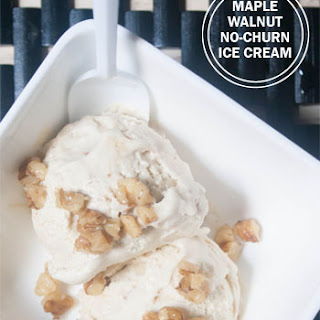 Maple Walnut Coconut Cream Ice Cream