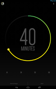 Sleep Timer (Turn music off) Screenshot