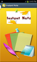 Screenshot of Instant Note