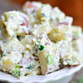 Dill Potato Salad Sour Cream Mayonnaise Recipes | Yummly