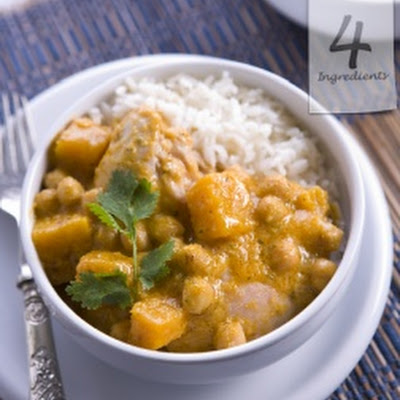 Chicken, Pumpkin & Chickpea Curry