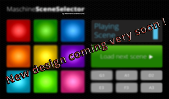 Screenshot of Maschine Scene Selector PAID