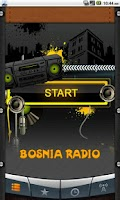 Screenshot of Bosnia Radio