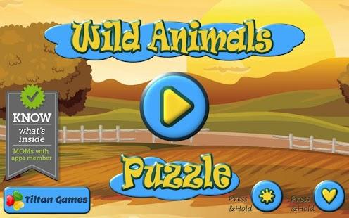 Zoo Animal Puzzles for Kids- screenshot thumbnail