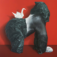 Koko, 2010, acrylic on canvas, 180 x 180 cm