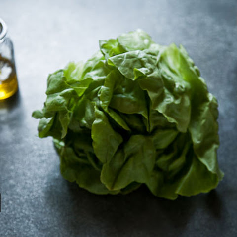 Butter Lettuce with butter dressing
