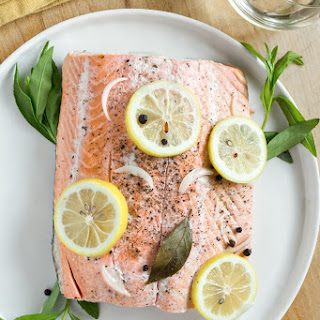 Slow Cooker Poached Salmon