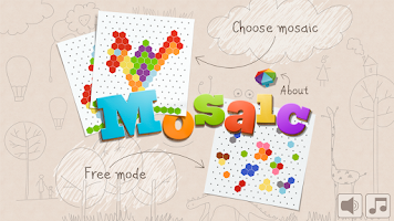 Screenshot of Mosaic for kids (free)