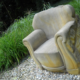 Lutz's garden chair by Emilie Walson - Artistic Objects Furniture ( chair, sculpture, zittau, gardens, germany, Chair, Chairs, Sitting )