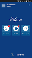 Screenshot of enVision Mobile