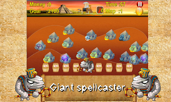 Screenshot of Mummy gold miner