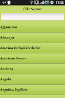 Screenshot of Imsakiye