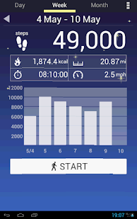 Pedometer APK for Bluestacks