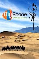 Screenshot of MyPhone by Unitel (new)