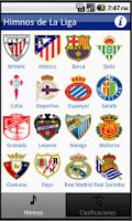 Screenshot of La Liga Himnos 2013-2014