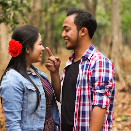 tingtung by Andy Alexandy - People Couples ( moody, lovely, forest, mariage, couple )