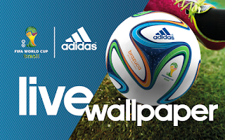 Screenshot of adidas 2014 FIFA World Cup LWP