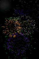 Screenshot of Toddler Games: Fireworks