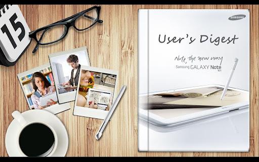 GALAXY Note 10.1 User's Digest