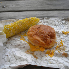 Herbed Corn on the Cob Grilled in Foil