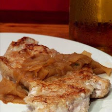 Pork Medallions With Apples and Cider