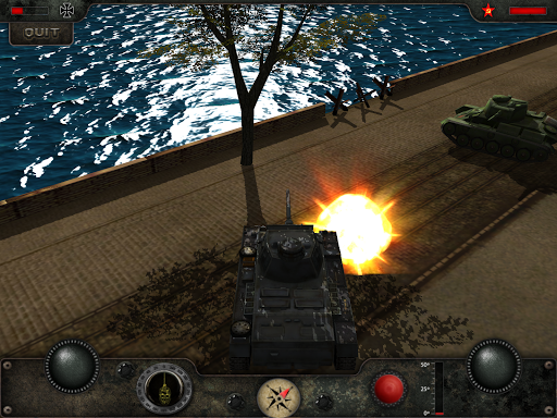 Armored Combat - Tank War Hero - screenshot