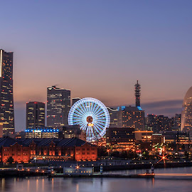 View of Yokohama by Ganesh Perumal - Buildings & Architecture Public & Historical