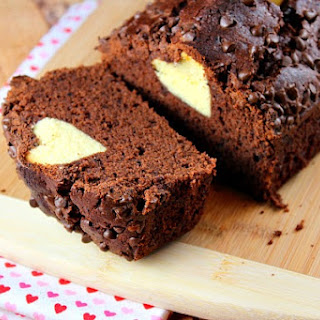 Chocolate- Valentine's Surprise- Loaf Cake