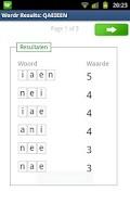 Screenshot of Wordr - Scrabble word helper