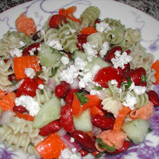 Garden Greek Pasta Salad