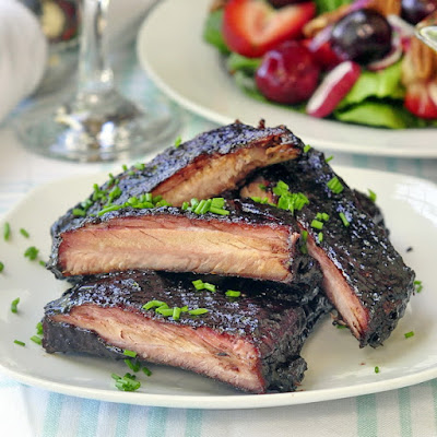 Blueberry Barbeque Ribs