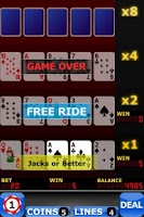 Screenshot of Upgrade Video Poker FREE