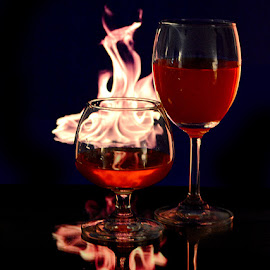 Burning desire #2 by Rakesh Syal - Food & Drink Alcohol & Drinks (  )