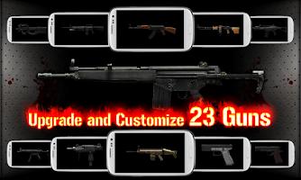 Screenshot of GUN ZOMBIE : HELLGATE