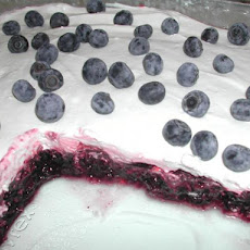 Blueberry Jello Dessert