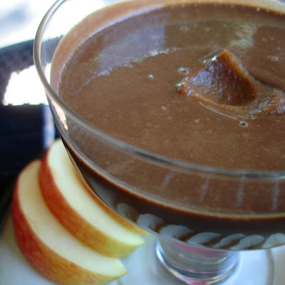 Cinnamon Caramel Brownie Fruit Dip