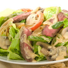 Philly Cheese Steak Salad