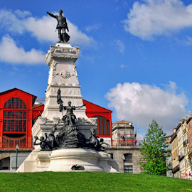 Monument to Prince Henry,  The Navigator by Antonio Amen - Buildings & Architecture Statues & Monuments ( henrique, navigator, prince, henry, discover, infante, portugal, porto )