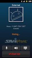 Screenshot of SAViiPhone - VoIP Calls