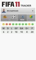 Screenshot of Tracker - For FIFA 11