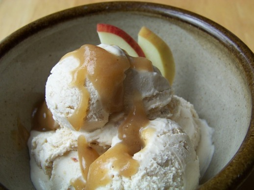 Apple-Rhubarb (and Cardamom) Ice Cream