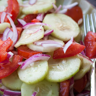 Marinated Cucumber Salad