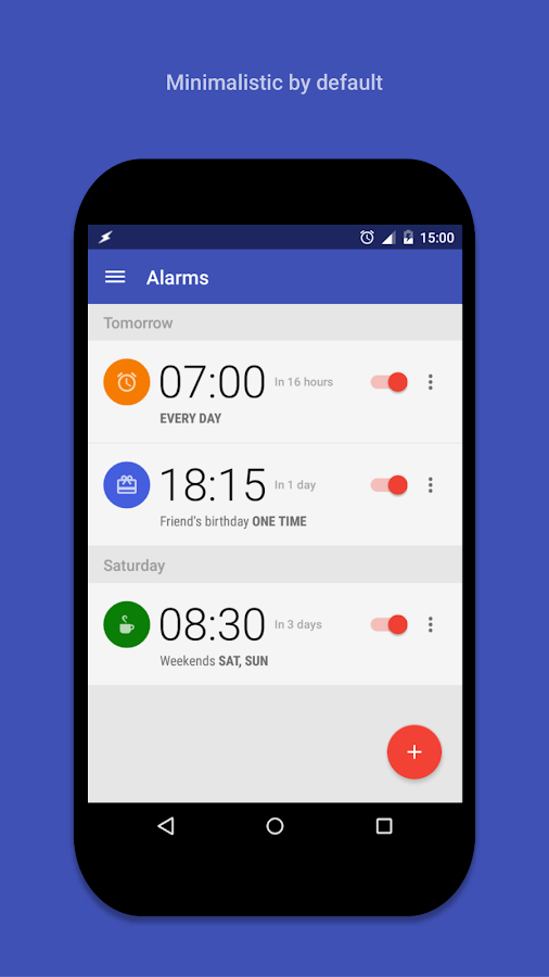 AlarmPad - Alarm clock PRO Screenshot 0