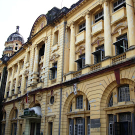 Yangon's Colonial Buildings by Ilse Gibson - Buildings & Architecture Office Buildings & Hotels ( colonial architecture, rangon, yangon, burma,  )