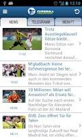 Screenshot of Fussball Transfers