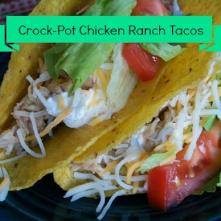 Crock-Pot Chicken Ranch Tacos